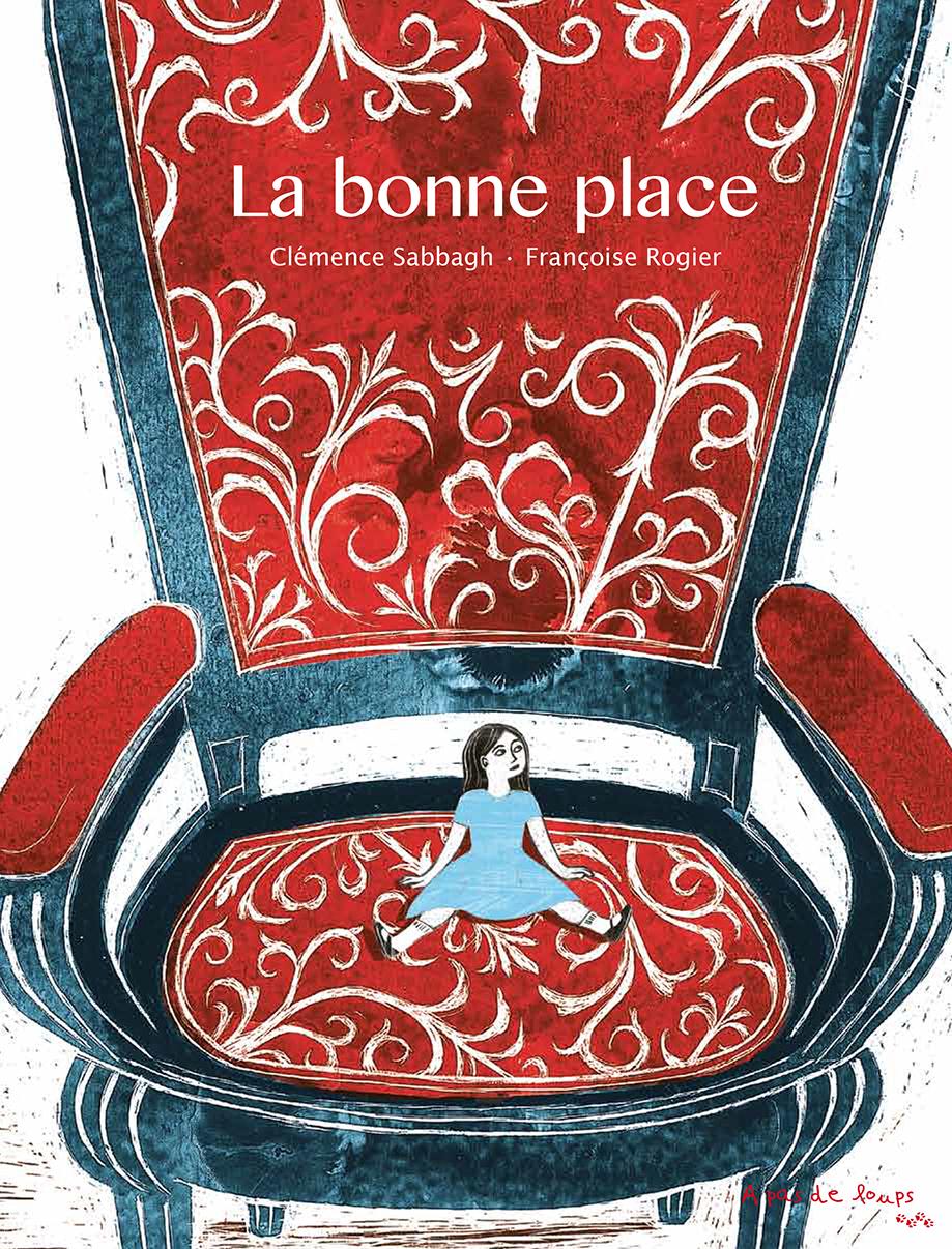 Couverture de La bonne place, cover, texte Clémence Sabbagh