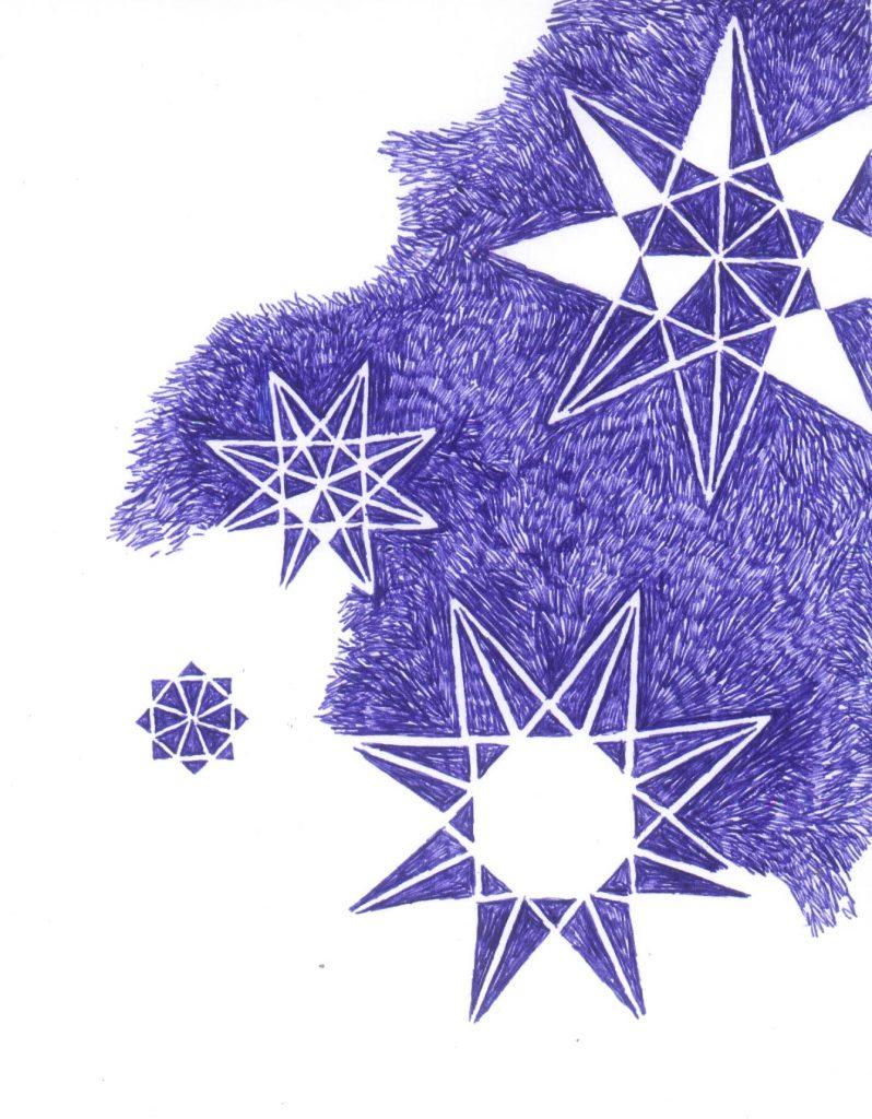 Mes nuits - Je suis à la maison - texte de Claire Gatineau (bic) 2011