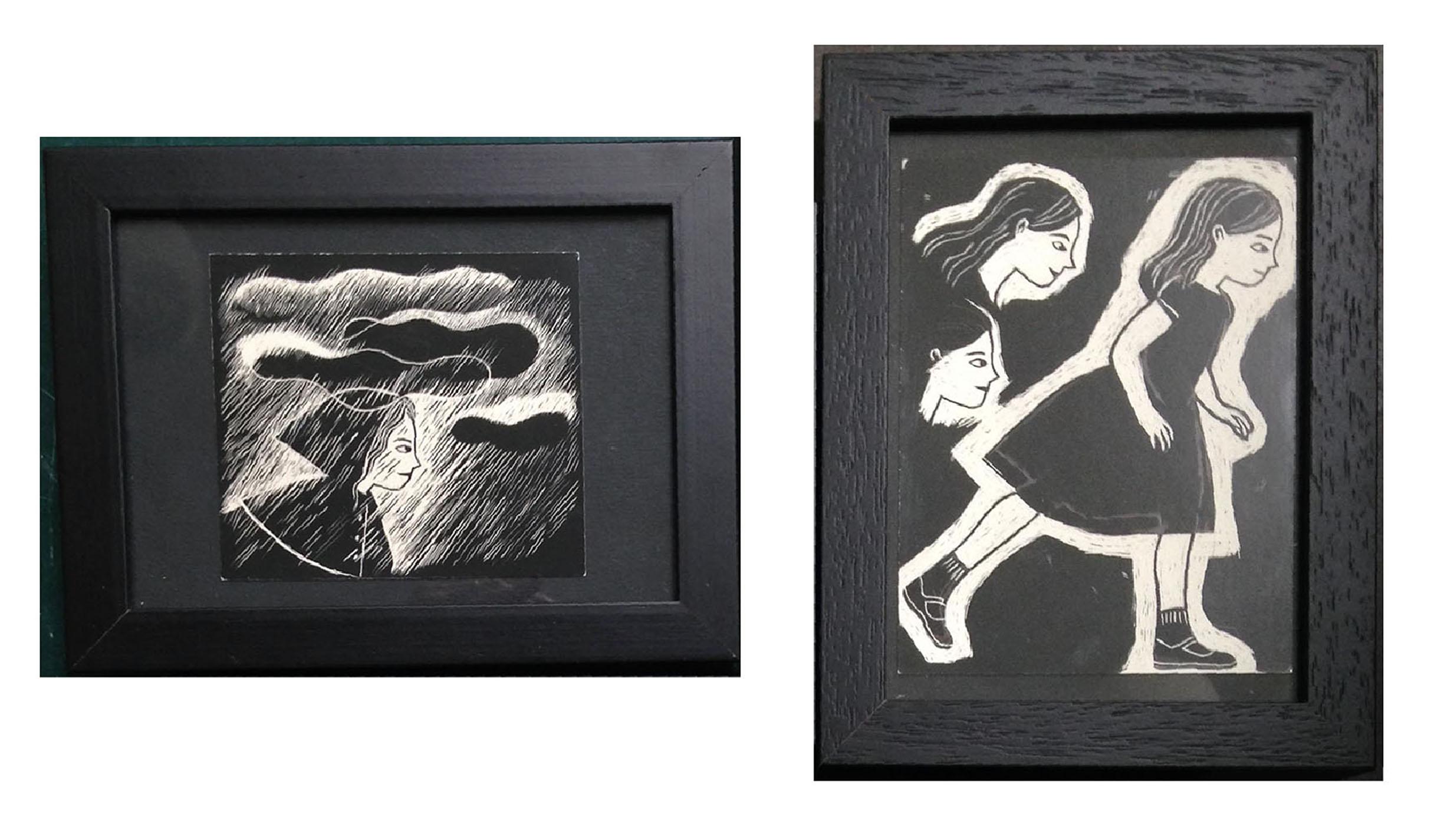 Eliza - carte à gratter (15/10cm+11,5/15cm)